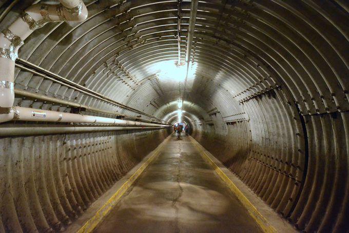 冷戦時代に作られた本物の核シェルター