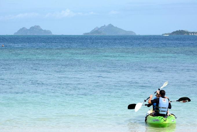 海を独占!子供も遊べて、学べるツアーも実施