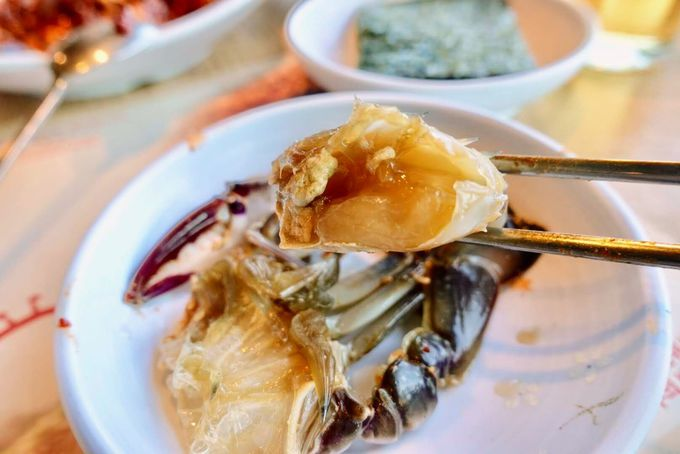 韓国で「ご飯泥棒」と呼ばれる、カンジャンケジャンの味は?