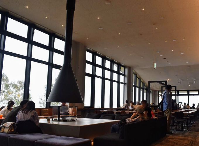 「SORA terrace cafe(ソラテラスカフェ)」で雲海を待つ