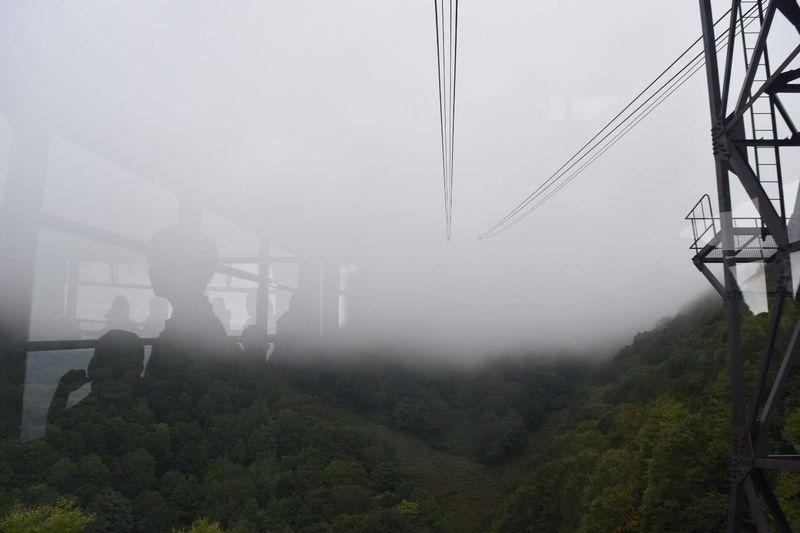 世界最大級の竜王ロープウェイで標高1,770mの山頂へ