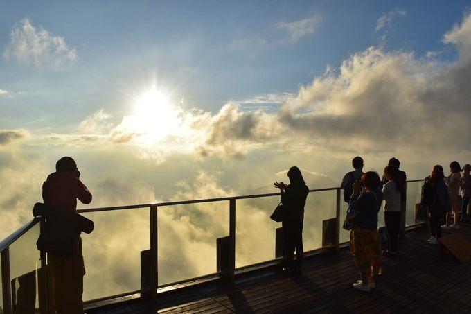 雨や曇りでも諦めないで!山頂は雲海が広がる別世界