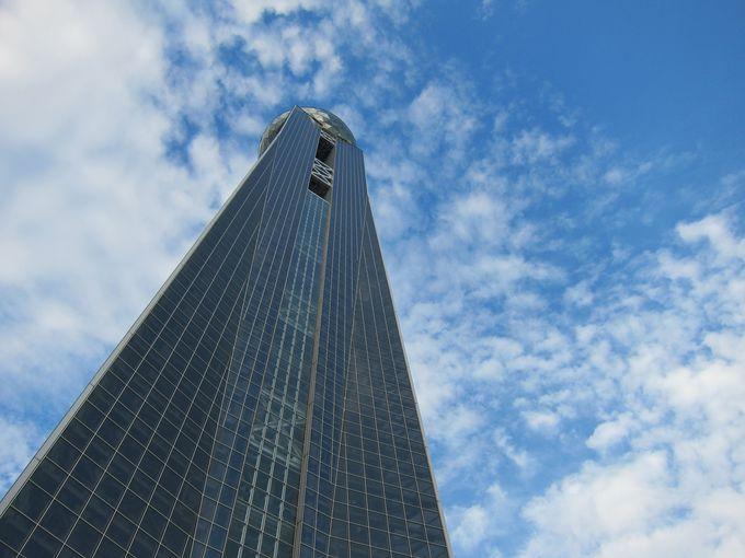 360度のパノラマビュー『海峡ゆめタワー』