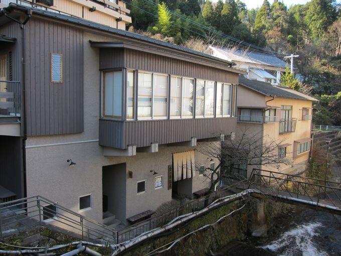 湯平温泉で一番歴史が古い 金の湯