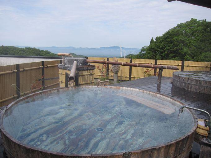 180度の大パノラマ 展望風呂