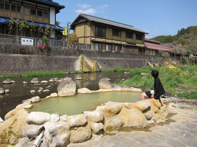 長湯温泉の名物「ガニ湯」