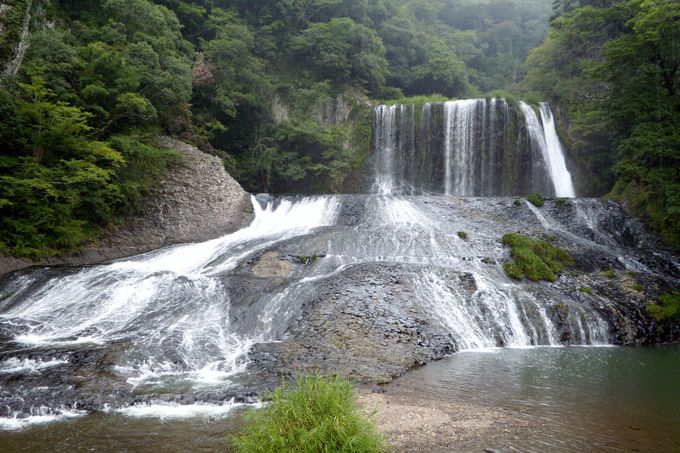 近くの龍門の滝、竜門温泉もオススメ