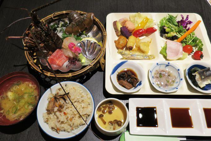 薩摩料理とハーフバイキング