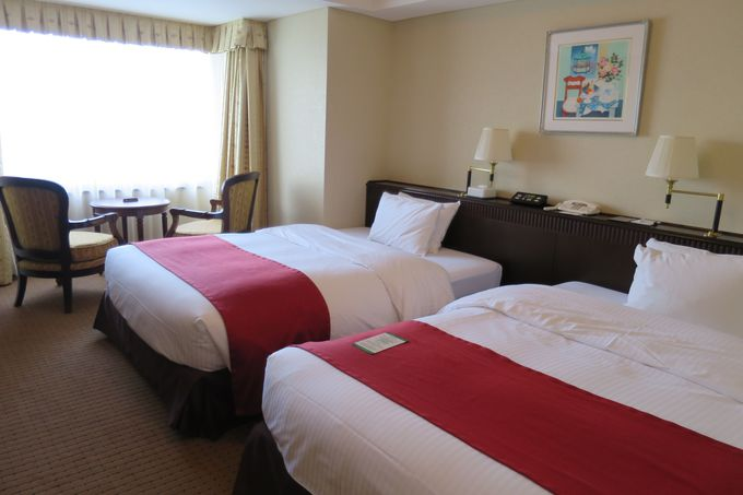 桜島ビューの客室がオススメ