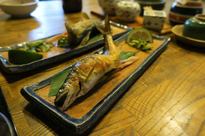 地元の食材をふんだんに使った創作料理が自慢