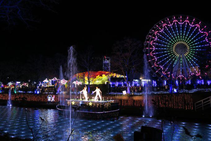 光のパレード&光の運河水上ショーも見逃せない!