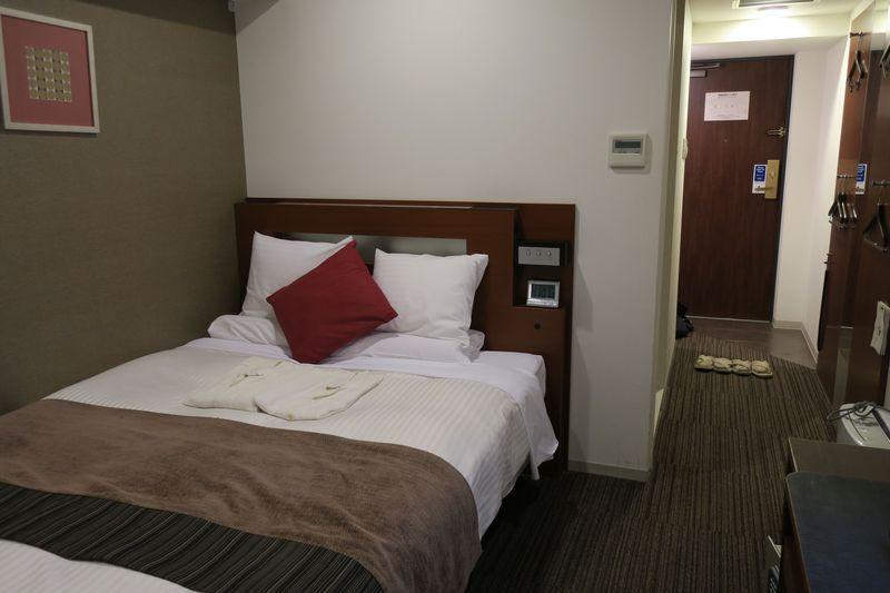 福岡観光に便利な「ホテルマイステイズ福岡天神南」はミニキッチン付き客室も完備