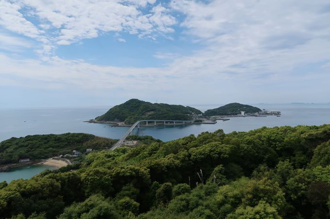 歴史と自然溢れる伊王島へ