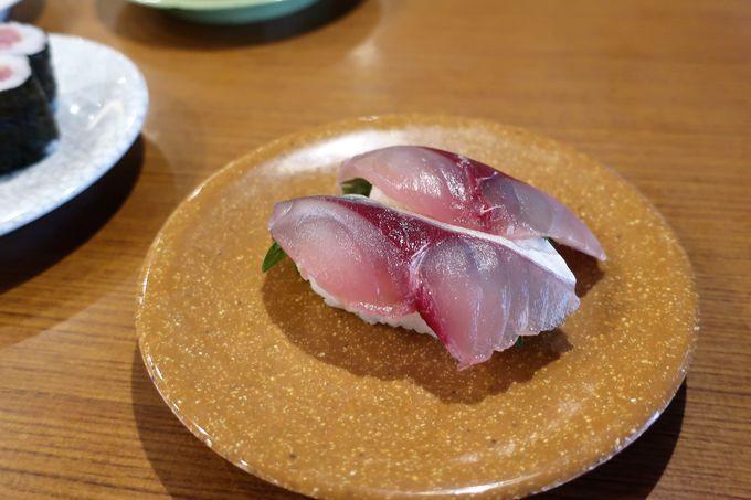 関あじ・関さばも手軽「亀正くるくる寿司」、海鮮丼が人気「海鮮いづつ」