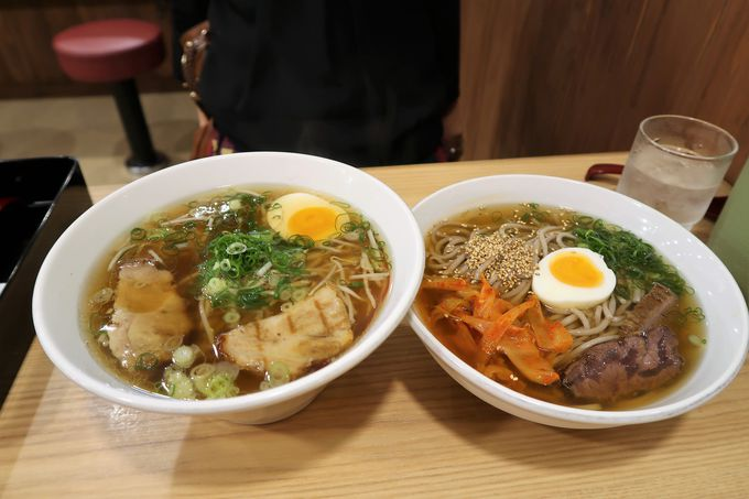 別府冷麺の名店「手のべ冷麺専門店 六盛」
