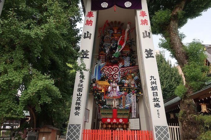 博多を代表する観光スポット「櫛田神社」