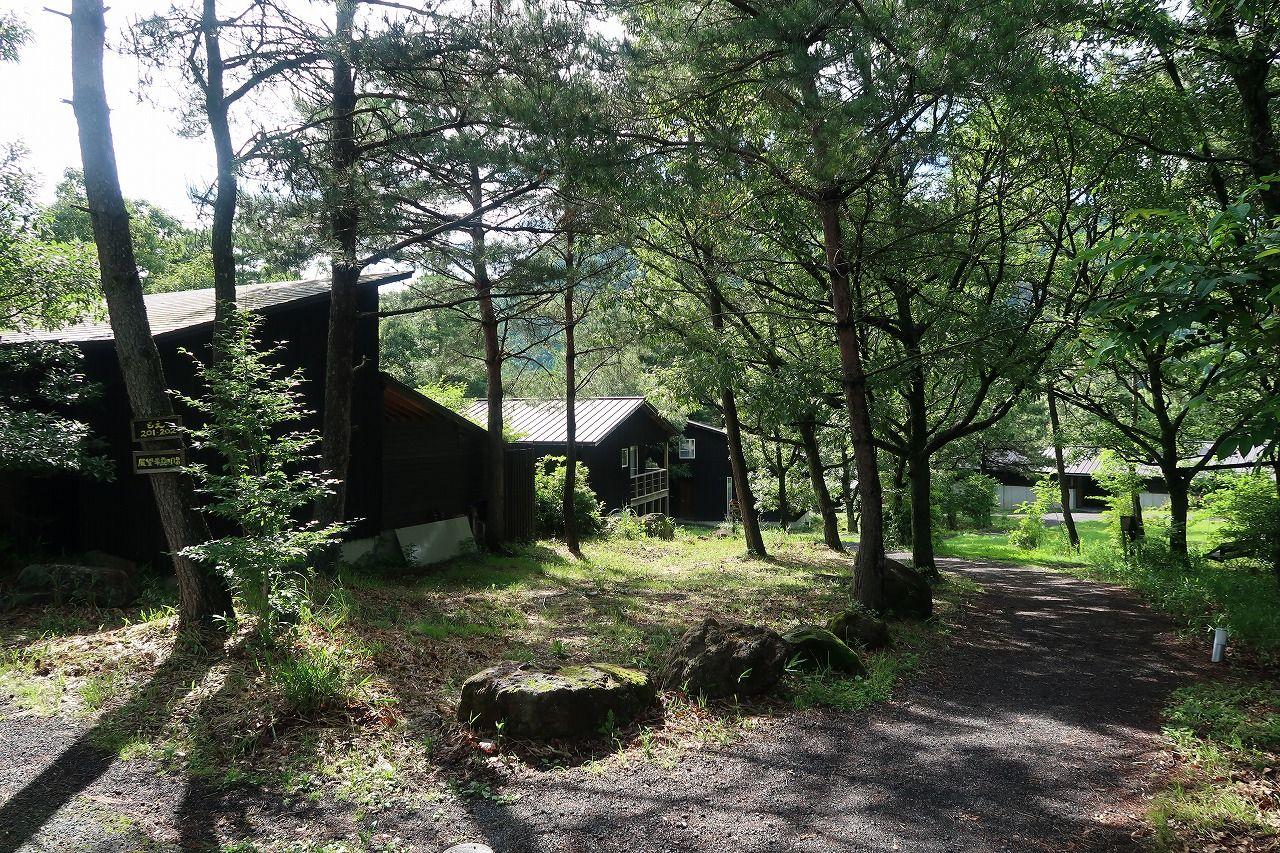 阿蘇くじゅう国立公園内、自然豊かな佇まい