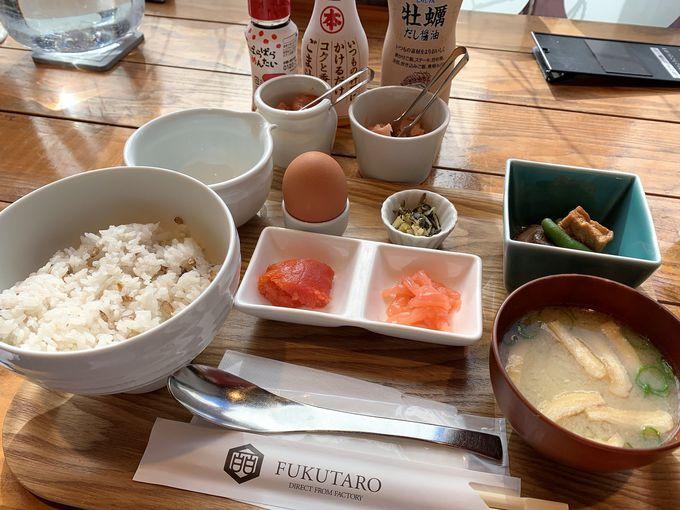 4.味のめんたい福太郎 天神テルラ店