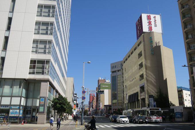 福岡観光にも便利な立地「福太郎 天神テルラ店」