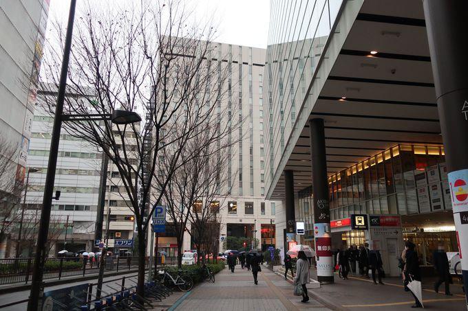 JR秋葉原駅から徒歩1分!観光にも便利なアクセス