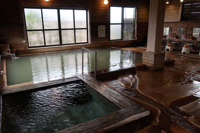 湯量豊富な温泉が源泉掛け流し!