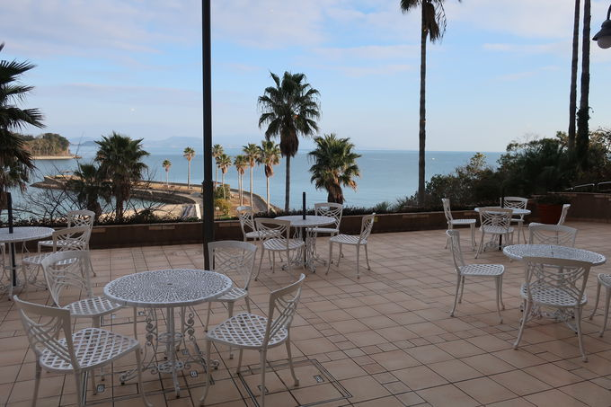 眺めの良いオーシャンビューのリゾートホテル