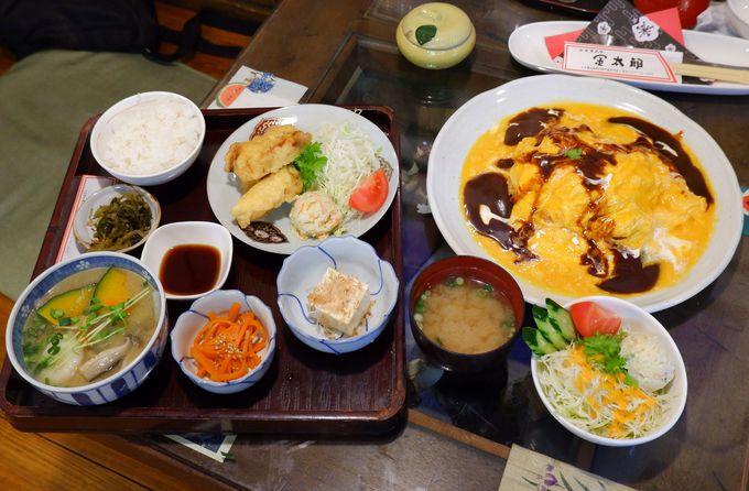 大分の郷土料理が味わえる「食事処金太郎」