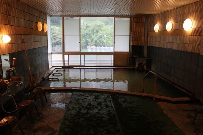 寛げる客室が揃い、癒される温泉も