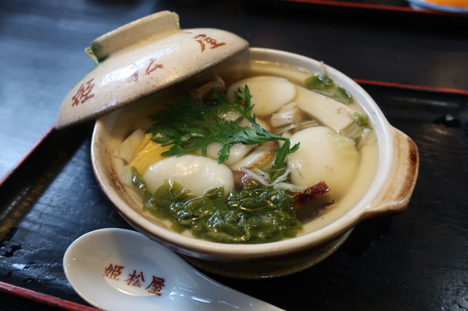 アツアツの土鍋には島原の恵みが盛りだくさん