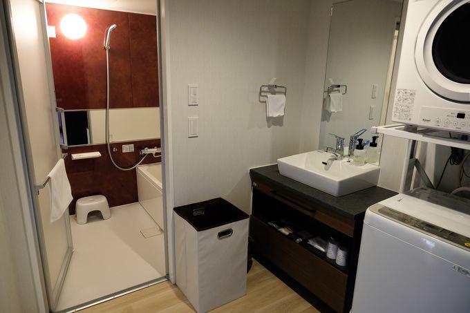 客室設備が充実して連泊利用も快適