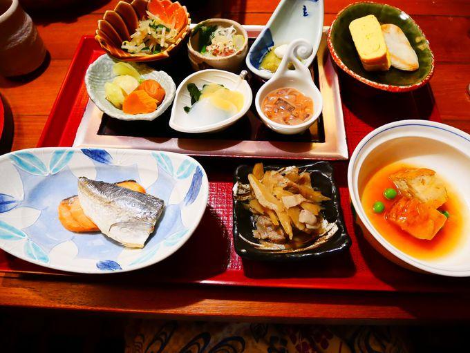 朝食は和食か洋食から選択可能!