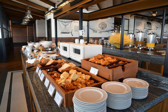 朝食ブッフェでは「名古屋めし」も味わえる