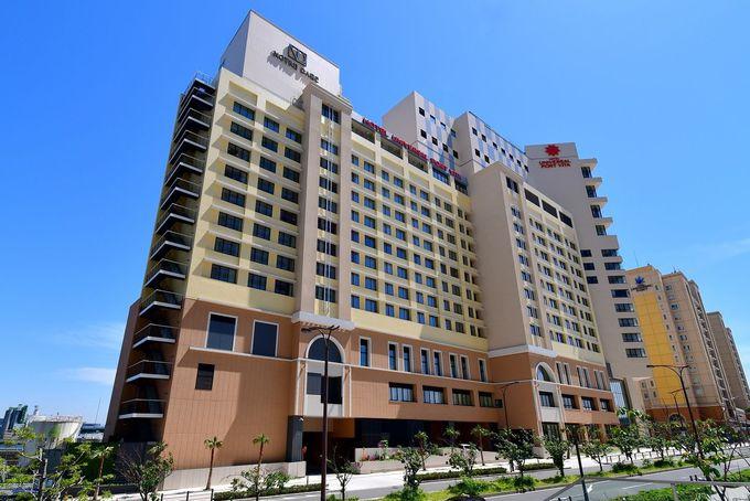 パークそば、JRの駅も徒歩すぐで便利なオフィシャルホテル