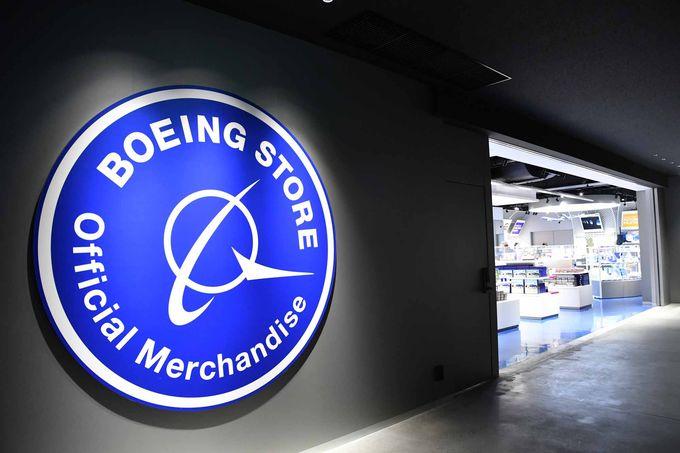日本唯一のボーイングストア&「シアトルテラス」でグルメとショッピングも!