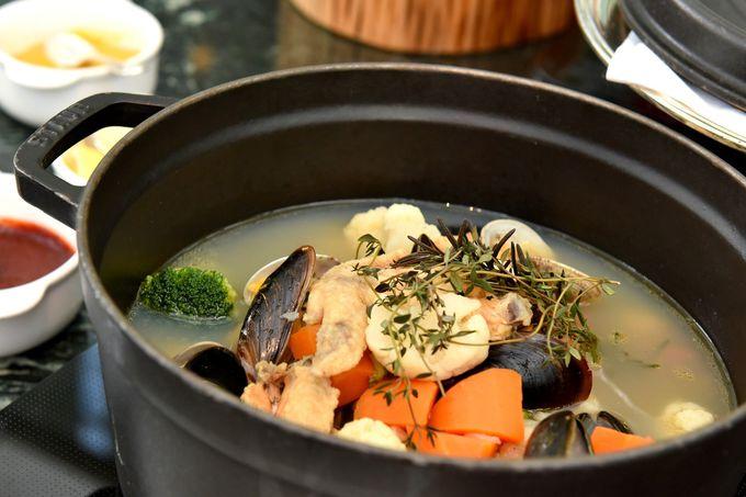 すべてホテルオリジナル! 話題の発酵鍋やスープカレー鍋