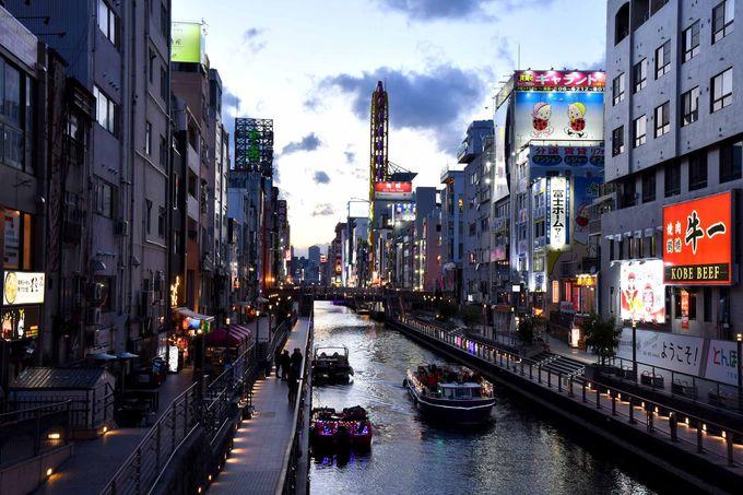 徒歩圏内に道頓堀や黒門市場、京都や奈良も電車1本で行ける