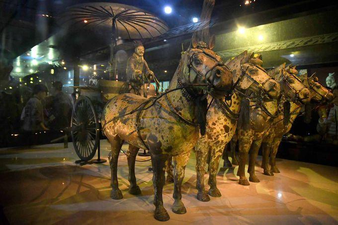 世界遺産「兵馬俑」は必須スポット、圧巻の展示物