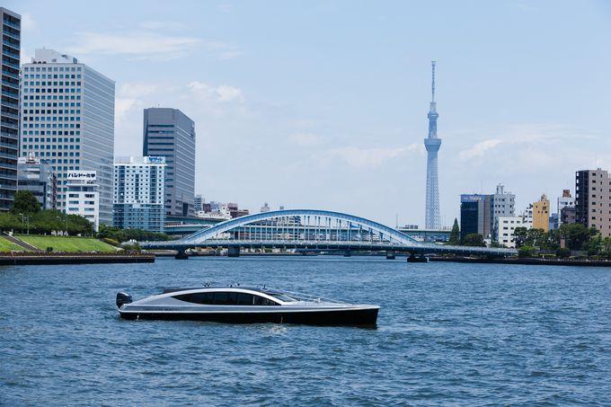 羽田空港と竹芝エリアを結ぶリムジンボート送迎サービス
