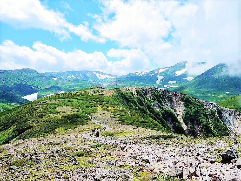 黒岳山頂で待っている感動の絶景!