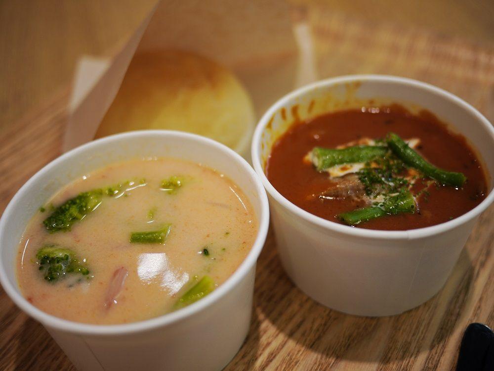 北海道にこだわったおいしいスープ「北海道スープスタンド」