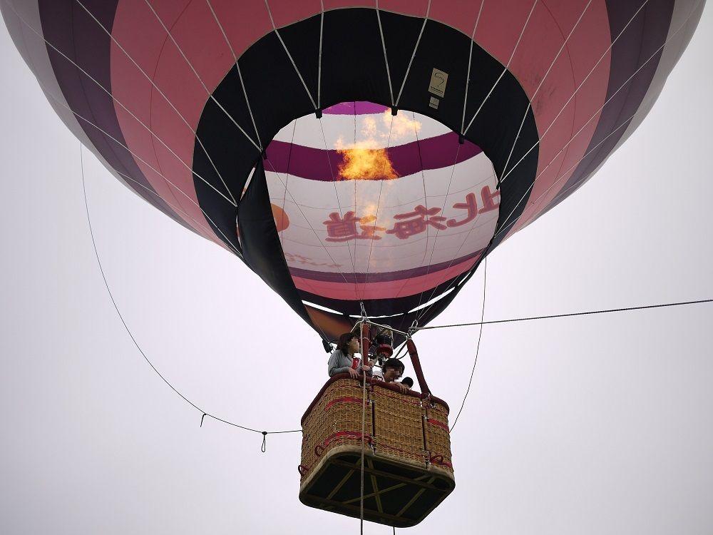 ふわりを体感!熱気球体験搭乗