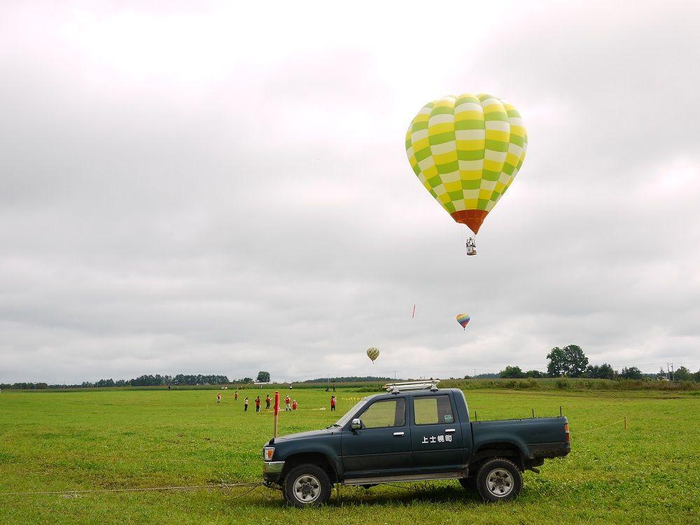熱気球による競技を見学しよう!