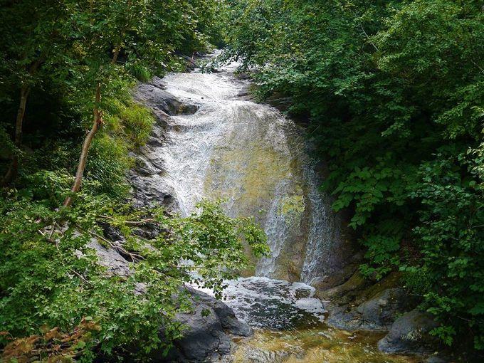 「カムイワッカ湯の滝」について