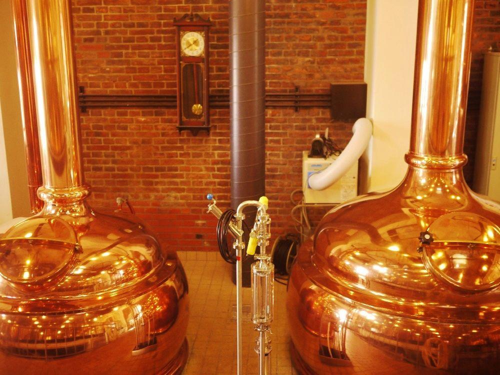輝くほど美しい醸造設備