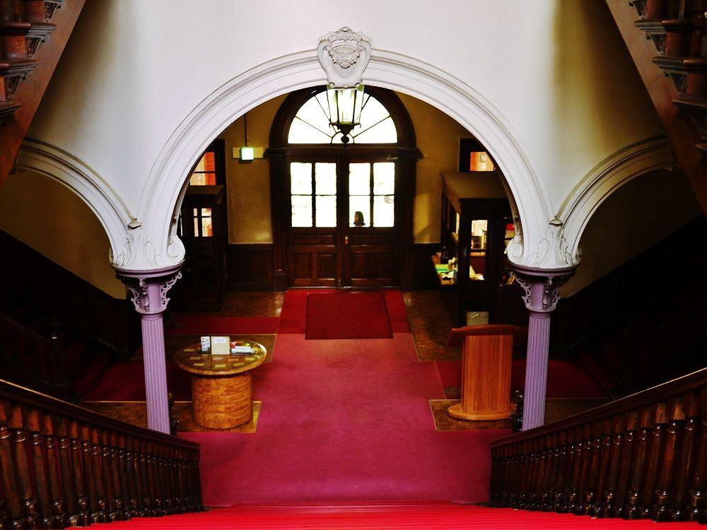 北海道庁旧本庁舎(赤れんが庁舎)は内部も美しい
