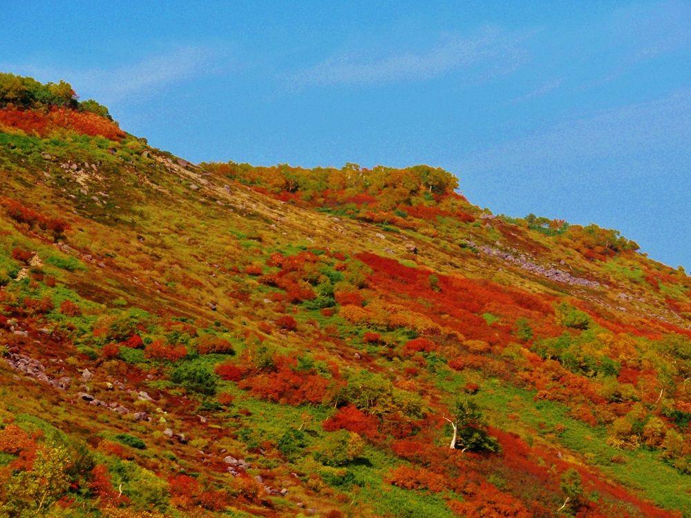 錦絵のような絶景が広がる「銀泉台」から登山開始