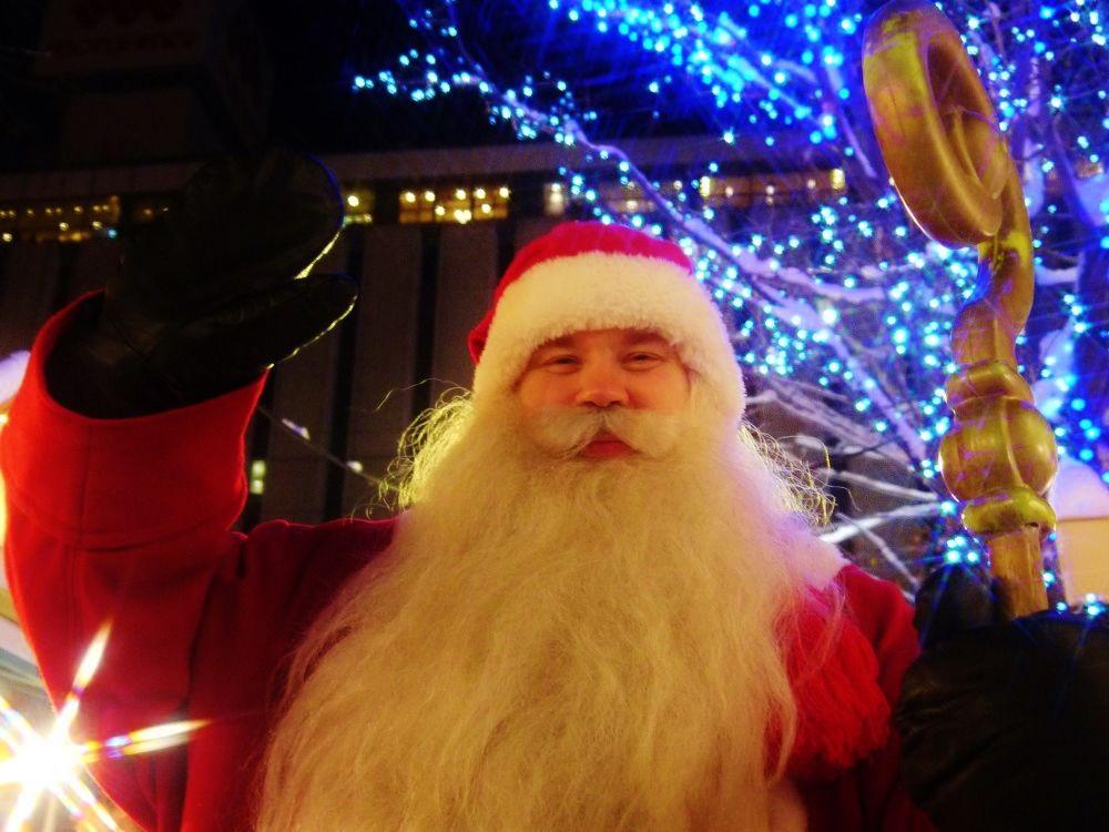 ミュンヘン・クリスマス市ではサンタクロースに会えるかも?
