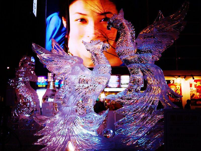 美しき氷の芸術!さっぽろ雪まつり「すすきのアイスワールド」