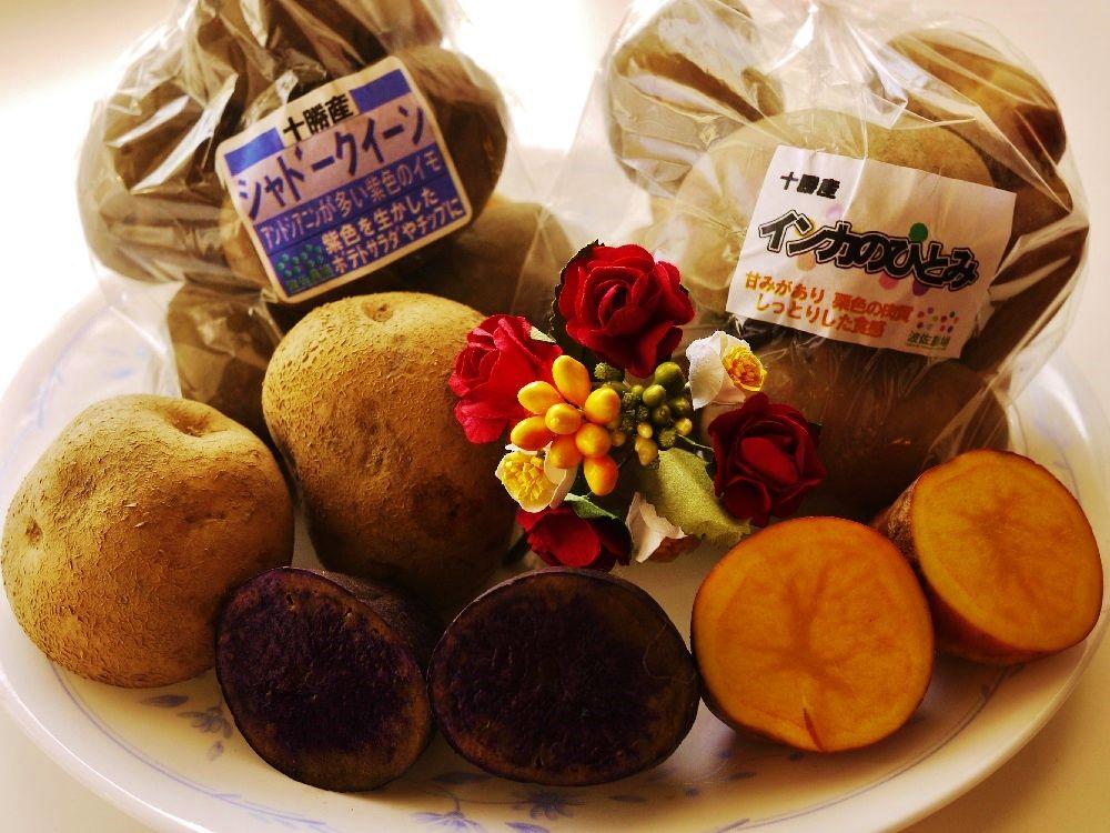 北海道ではジャガイモは種類別販売!珍しいジャガイモも!!