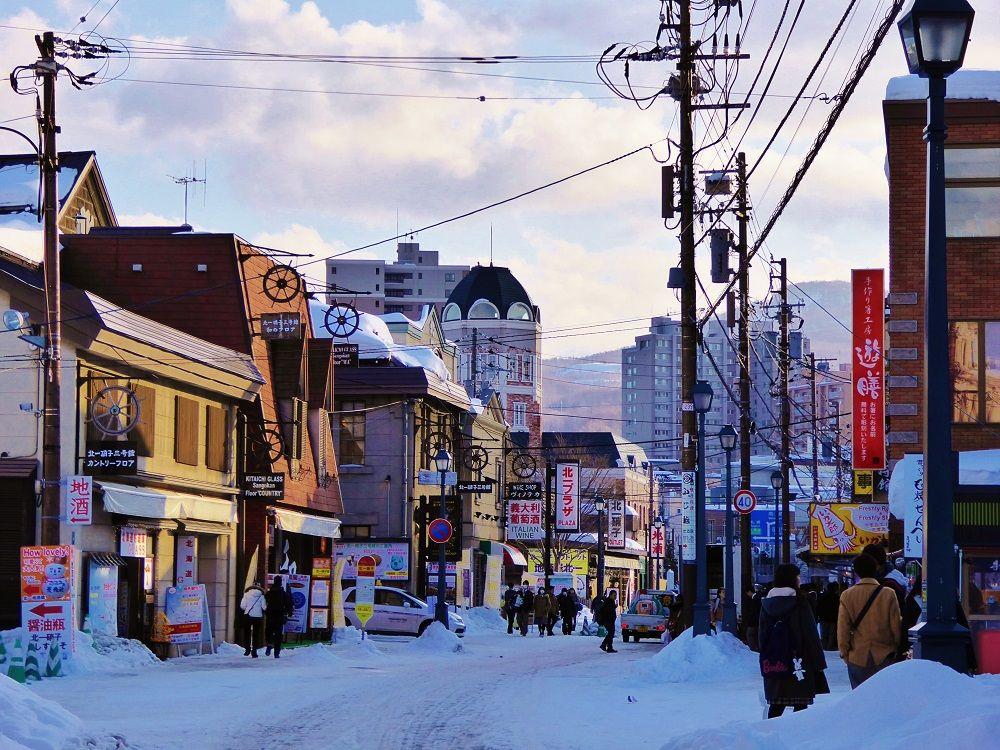 小樽で一番にぎやか「堺町通り」
